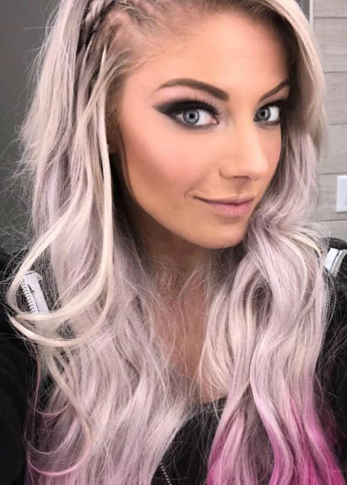 Alexa Bliss in an Instagram selfie in March 2018