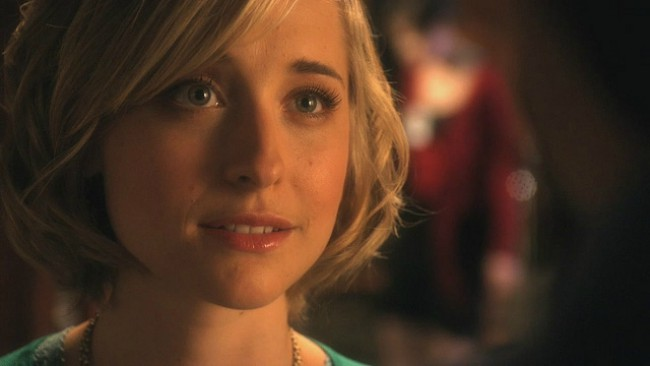 Allison Mack as seen in December 2017