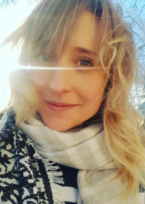 Allison Mack in an Instagram selfie as seen in March 2018