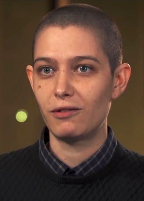 Asia Kate Dillon as seen in January 2017