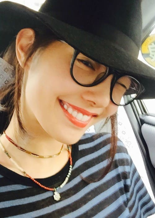 Bai Baihe in an Instagram selfie as seen in August 2015