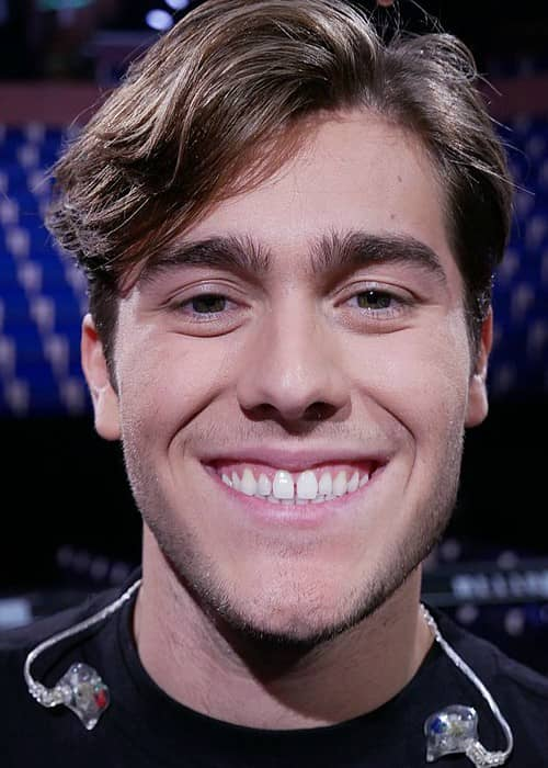 Benjamin Ingrosso at Melodifestivalen in February 2018