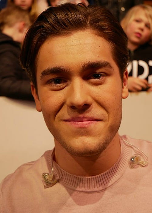 Benjamin Ingrosso at Melodifestivalen in March 2017