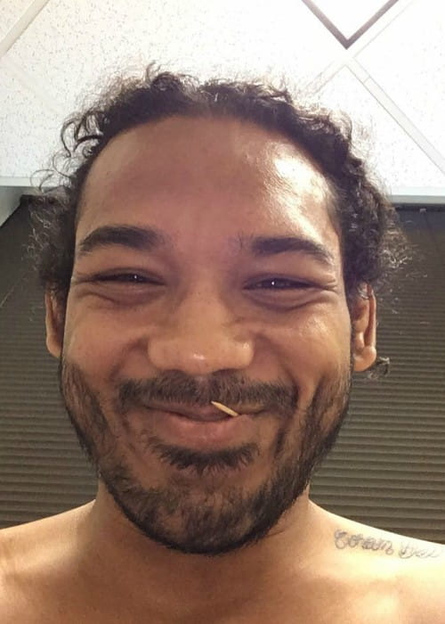 Benson Henderson in a selfie in July 2016