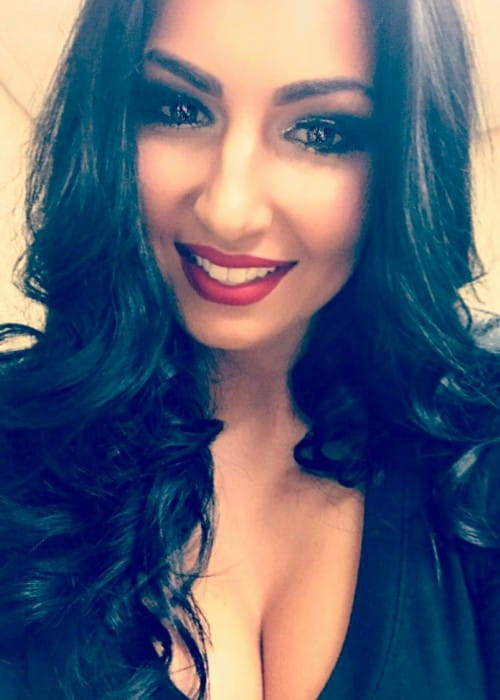 Billie Kay in a selfie in May 2017