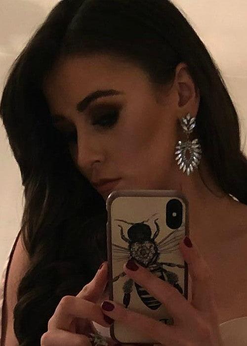 Brooke Vincent in an Instagram selfie as seen in March 2018