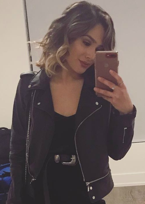 Chachi Gonzales in a selfie as seen in October 2017