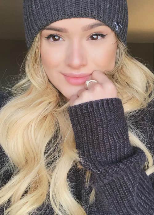 Chachi Gonzales in a selfie in February 2018
