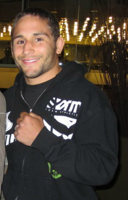 Chad Mendes as seen in April 2011