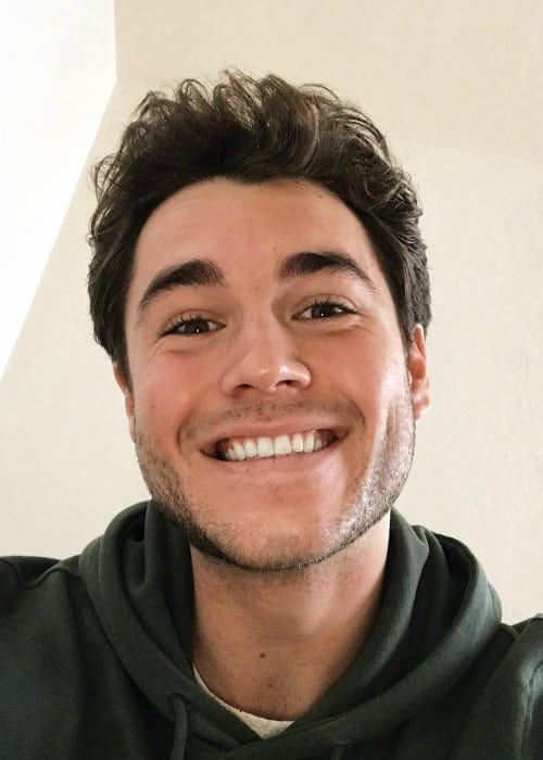 Charlie DePew in a selfie in December 2017