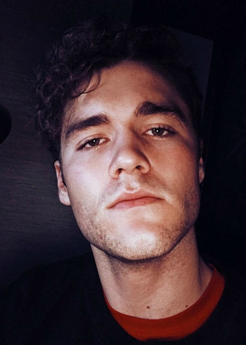 Charlie DePew in an Instagram selfie as seen in July 2017