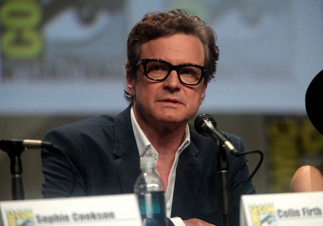 Colin Firth at the 2014 San Diego Comic-Con International