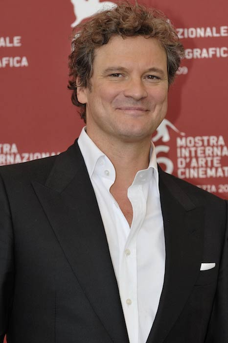 Colin Firth during the Venice Film Festival 2009