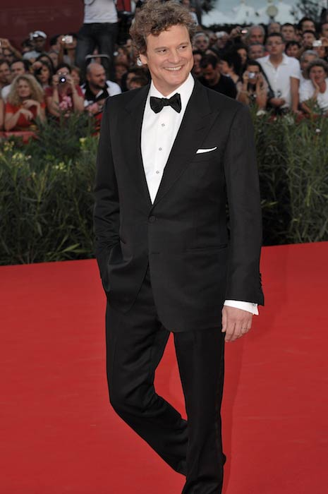 Colin Firth during the closing ceremony of 2009 Venice Film Festival