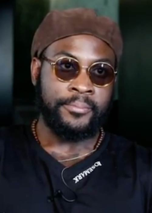 Damso during his interview with Rapelite in 2018
