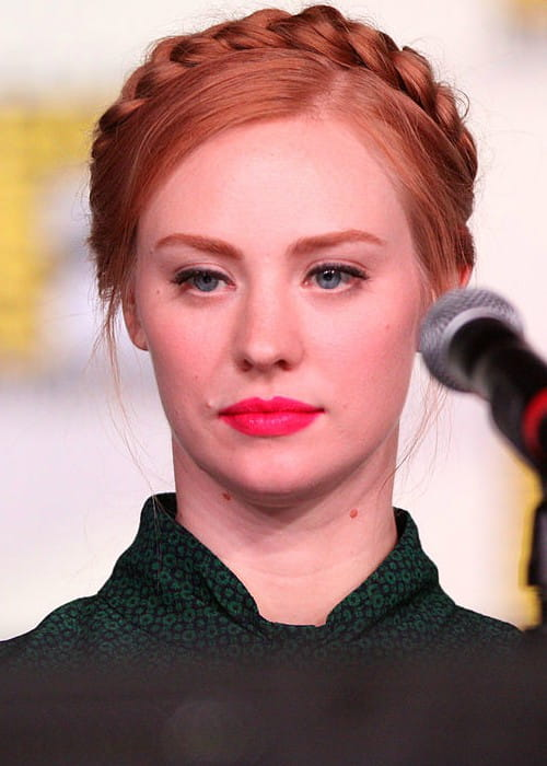 Deborah Ann Woll at the 2012 San Diego Comic-Con International