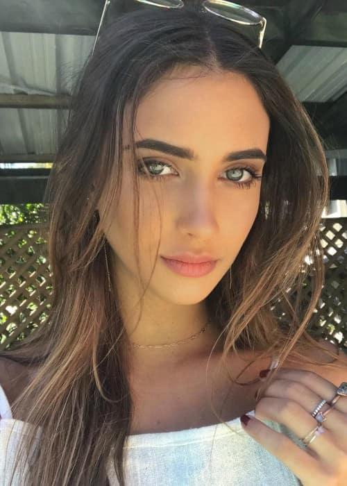 Elisha Herbert in an Instagram selfie as seen in September 2017