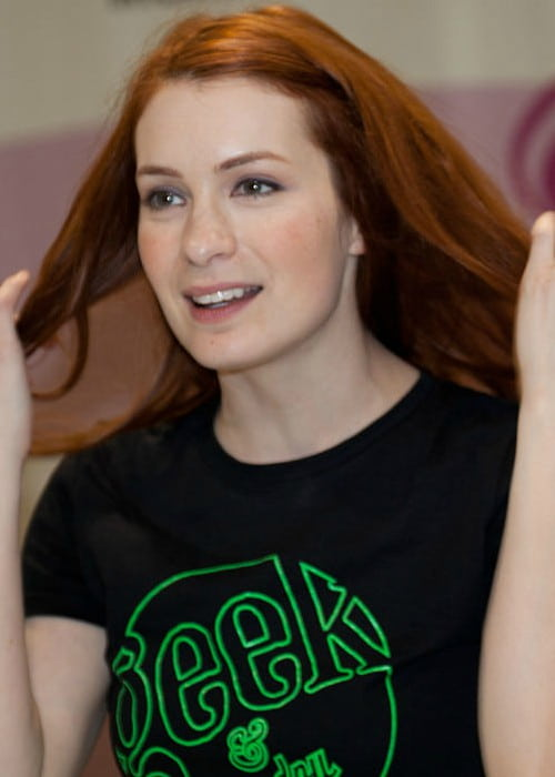 Felicia Day as seen in March 2012