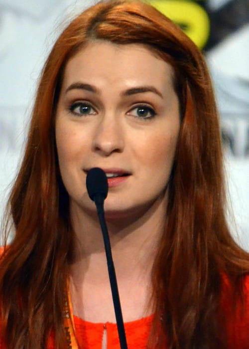 Felicia Day at the 2012 Comic-Con in San Diego