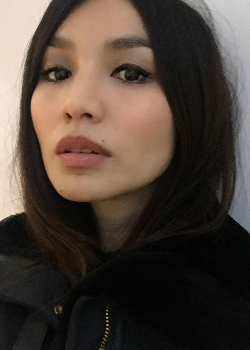 Gemma Chan in an Instagram selfie as seen in April 2018