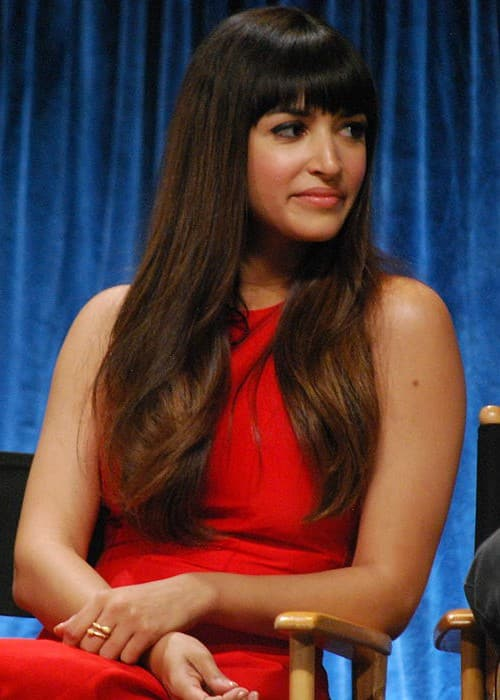 Hannah Simone as seen in March 2012