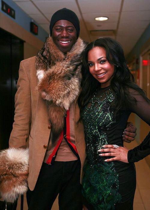 J. Alexander and Ashanti in EMERGE! Fashion Show at New York Fashion Week 2012