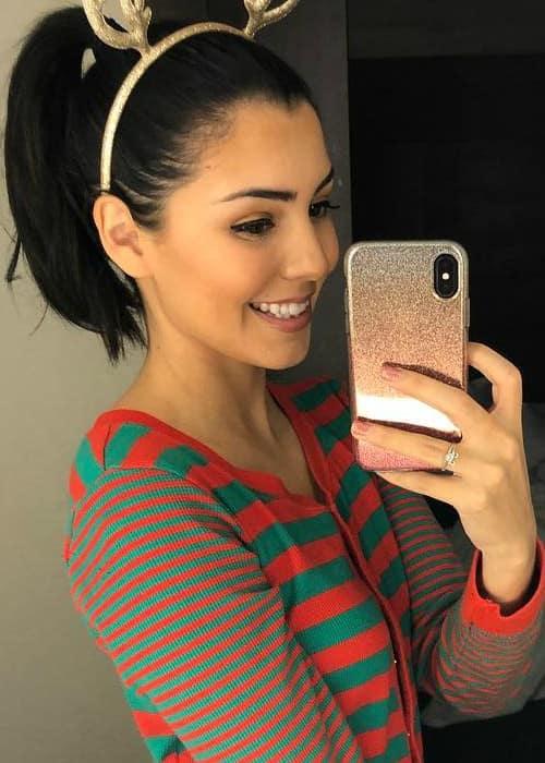 Jessica Andrea in a selfie as seen in November 2017