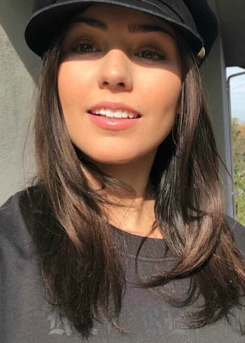 Jessica Andrea in a selfie in January 2018