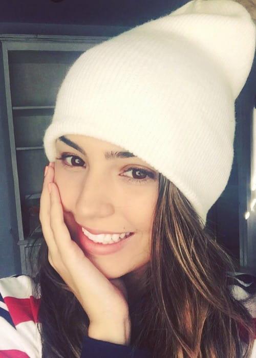 Jessica Andrea in an Instagram selfie in November 2017