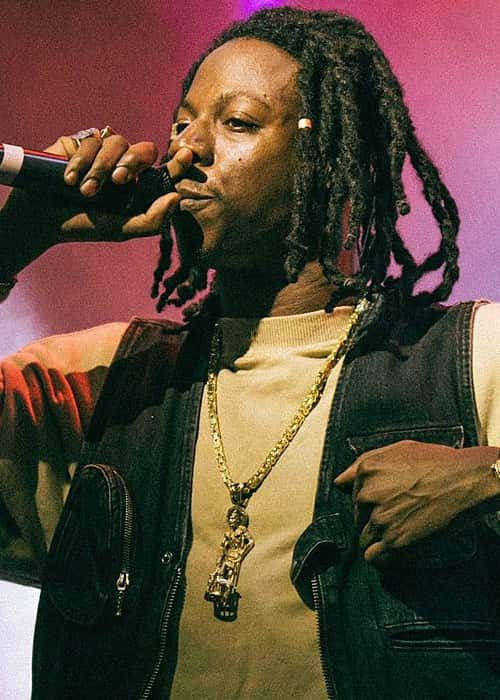 Joey Badass performing in September 2017