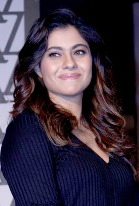 Kajol at the launch of Olay Total Effects in November 2016