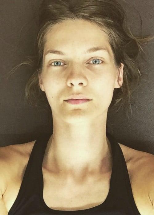 Karolin Wolter in an Instagram selfie as seen in May 2015