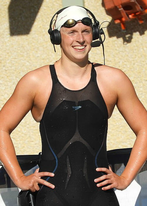 Katie Ledecky as seen in June 2017