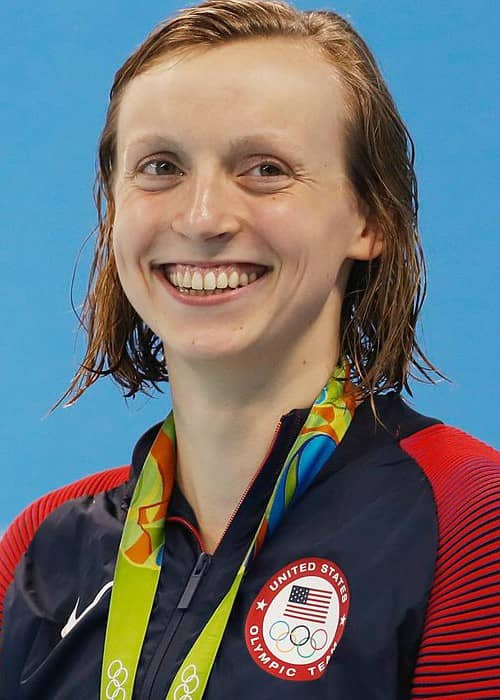 Katie Ledecky at the 2016 Summer Olympics