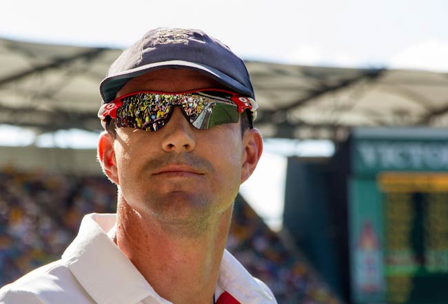 Kevin Pietersen during Ashes Test series 2013/2014 Day 3 1st Test