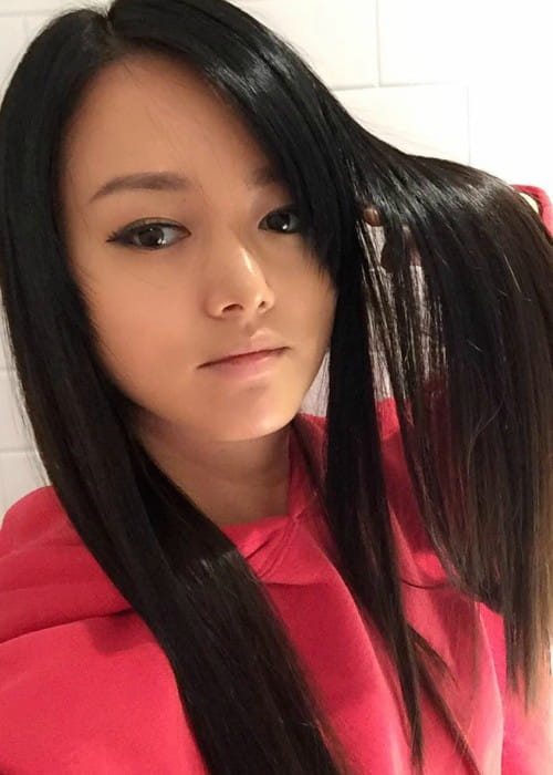 Kiki Sukezane in an Instagram selfie as seen in November 2017
