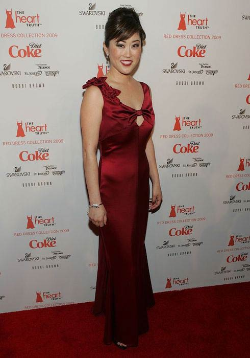 Kristi Yamaguchi at The Heart Truth's Red Dress Collection 2009 Fashion Show during New York Fashion Week