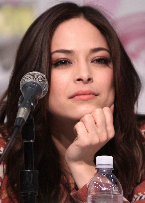 Kristin Kreuk at the 2013 WonderCon in California