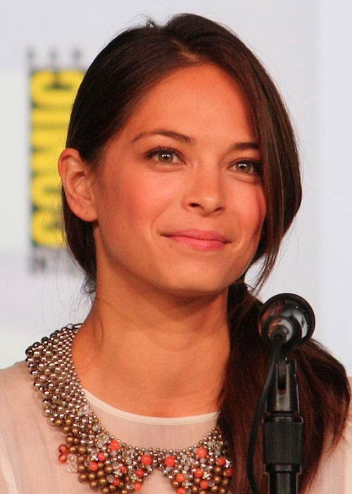 Kristin Kreuk during the 2012 Comic-Con in San Diego