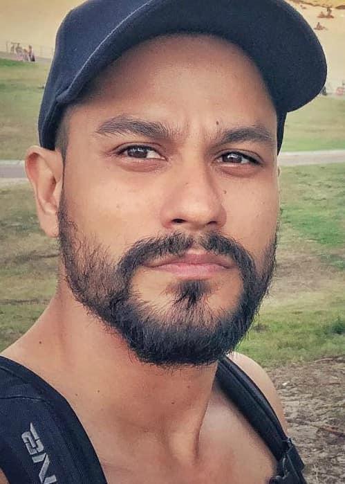 Kunal Khemu in an Instagram selfie as seen in February 2018