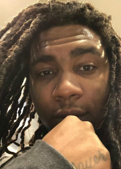 Lil B in an Instagram selfie in March 2018