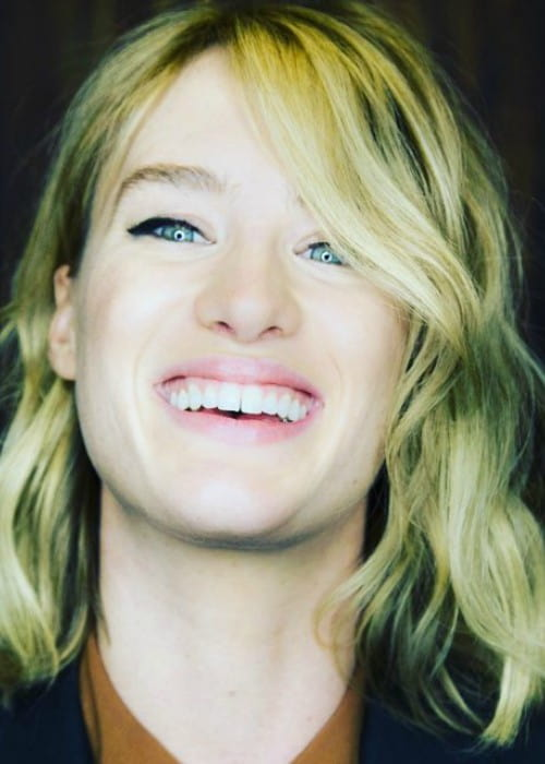 Mackenzie Davis in an Instagram post as seen in November 2015