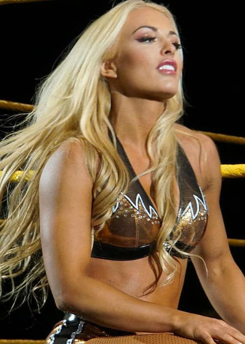 Mandy Rose during the WrestleMania Axxess in April 2016