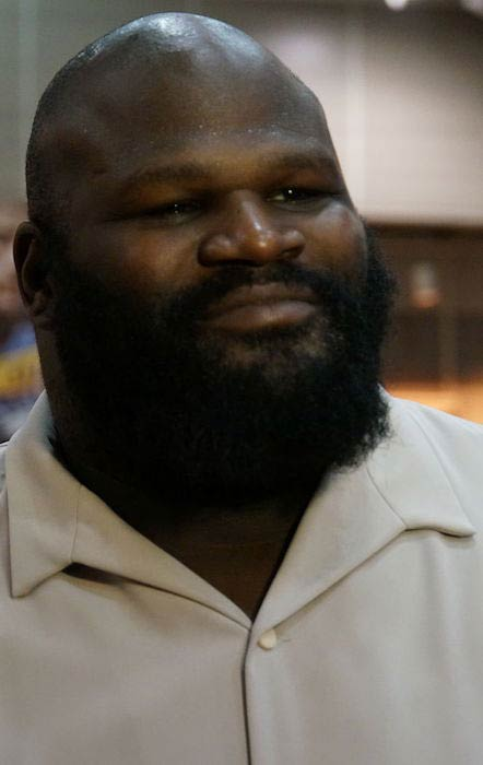 Mark Henry during the WWE Axxess fan event for WrestleMania XXX in 2014