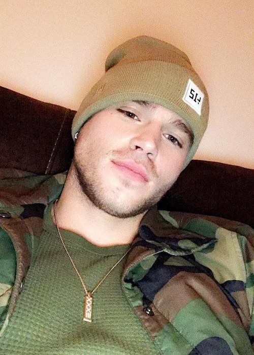 Matthew Noszka in a November 2017 selfie
