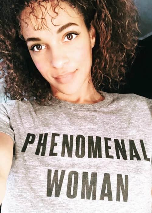 Megalyn Echikunwoke in an Instagram selfie as seen in April 2018