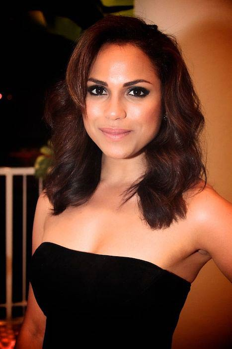 Monica Raymund at 2013 Imagen Foundation Awards