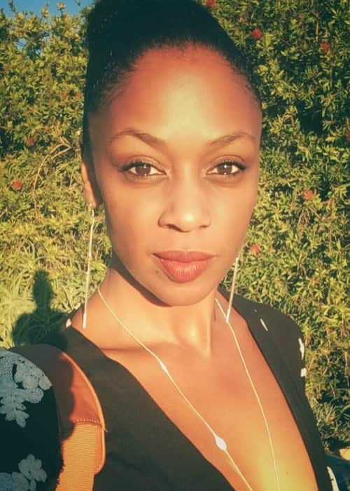 Nadia Turner in an Instagram selfie as seen in October 2017