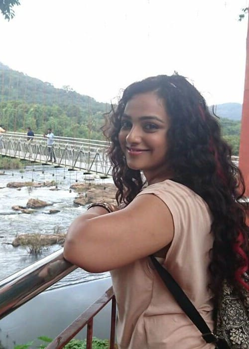 Nithya Menen as seen in August 2016