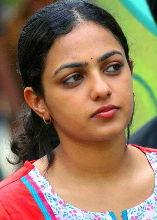 Nithya Menen during the shoot of her movie Thalsamayam Oru Penkutty in October 2011